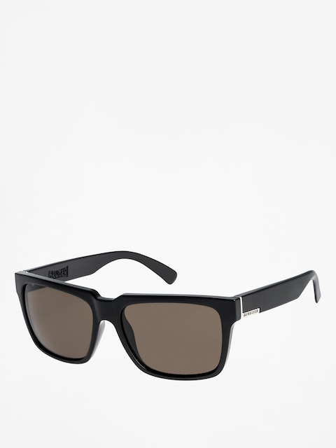 Quiksilver Sunglasses Bruiser (shiny black/grey)