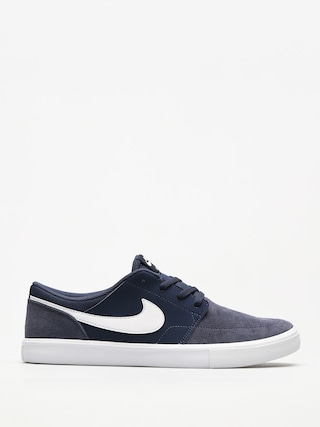 Nike SB Shoes Portmore II Solar (midnight navy/white black)