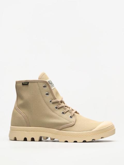 Palladium Schuhe Pampa Hi Originale (sahara/ecru)