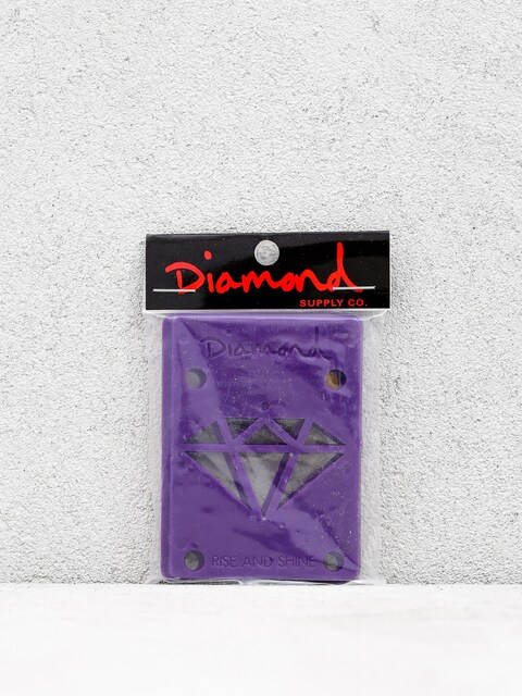 Diamond Supply Co. Shockpads Rise & Shine Risers (purple)