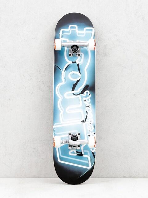 Almost Skateboard Neon (white/black)