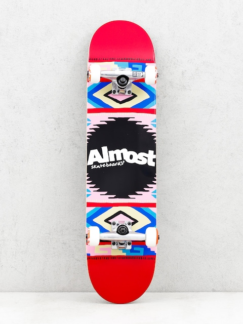 Almost Skateboard Native American (red)
