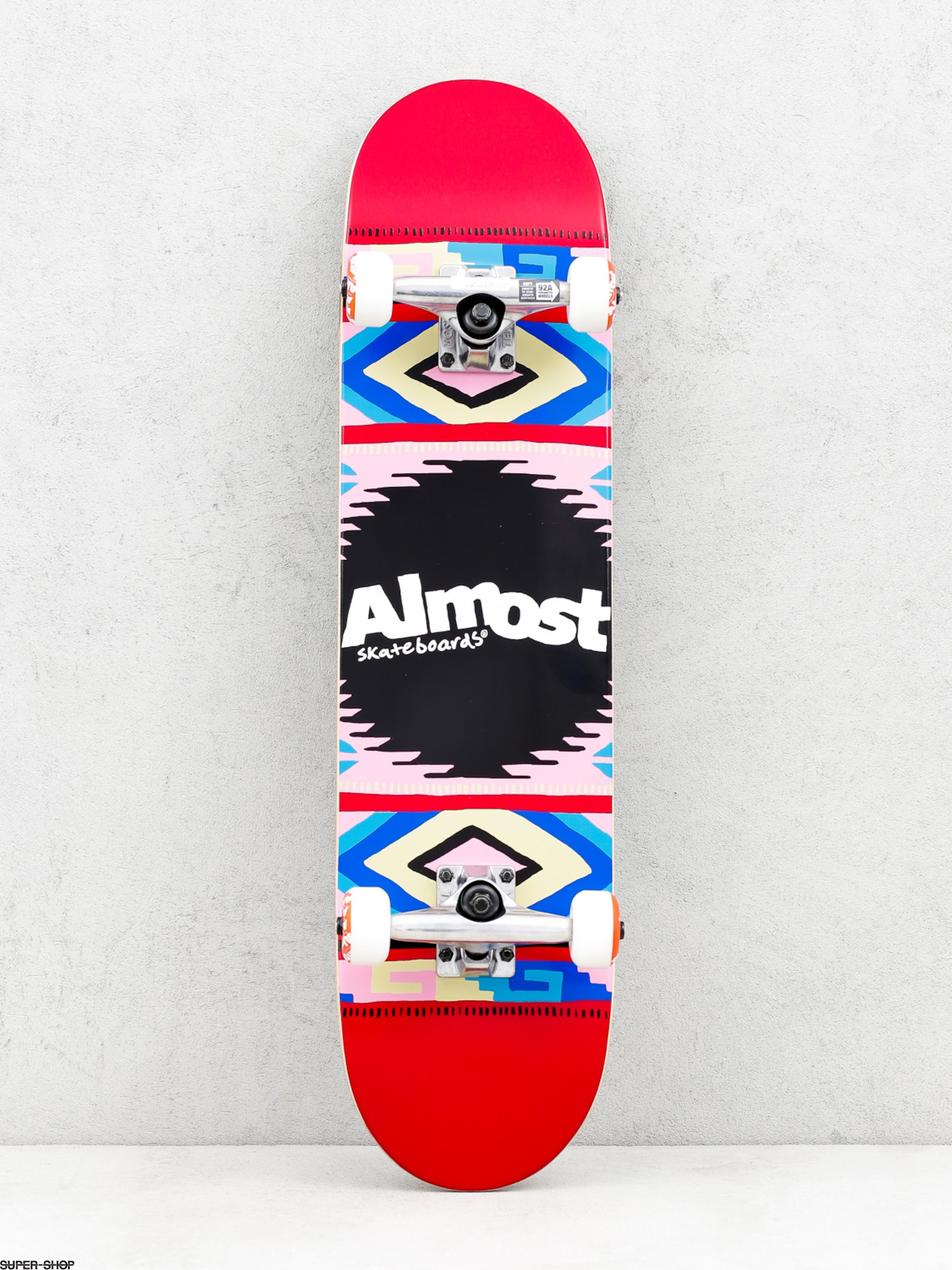 Almost Skateboard Native American (red)