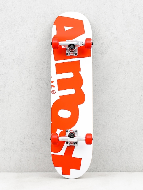 Almost Skateboard Side Pipe (white/red)