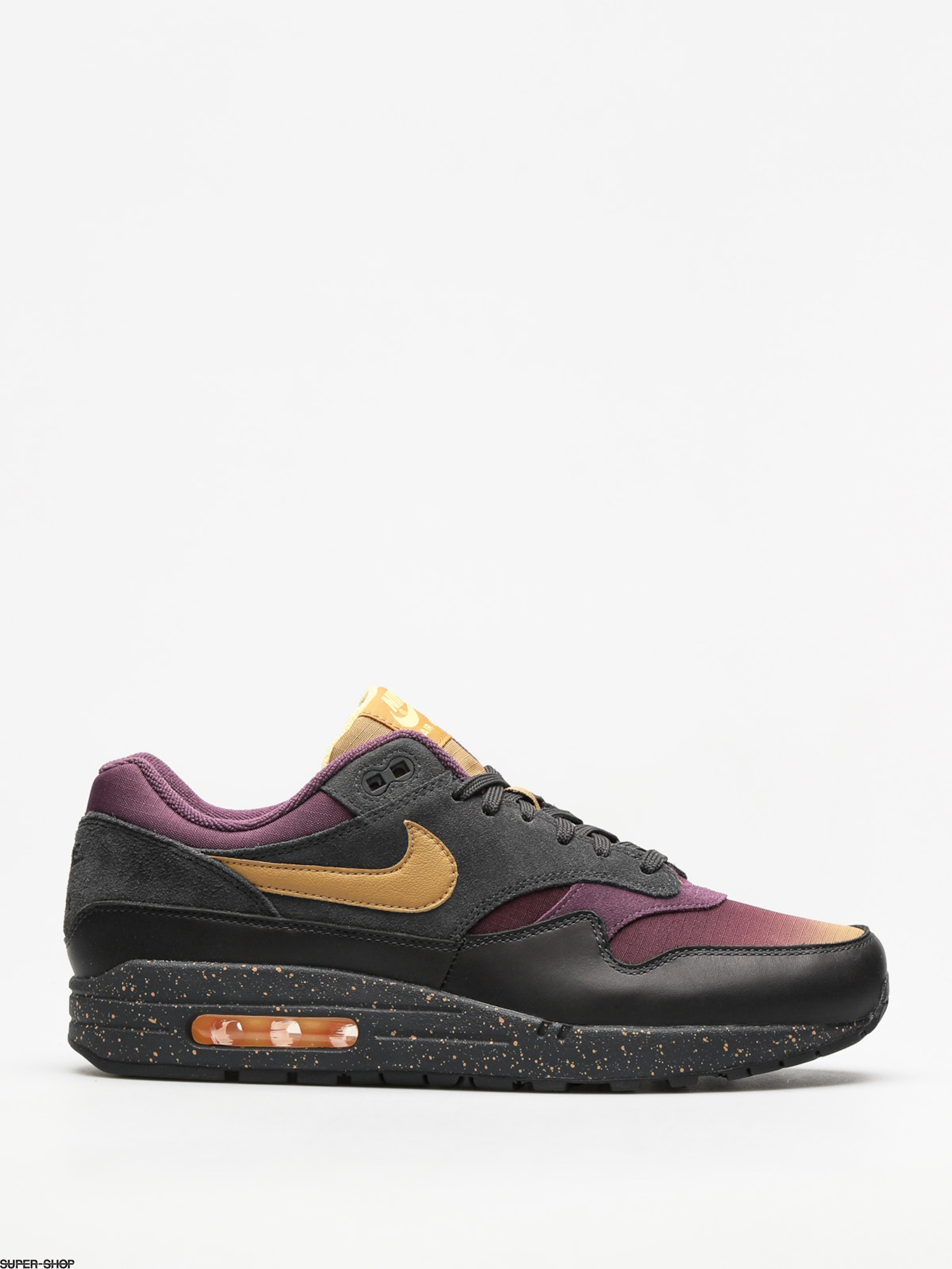 Nike Shoes Air Max 1 Premium (anthracite/elemental gold pro purple)