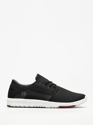 Etnies Shoes Scout (black/dark grey/red)