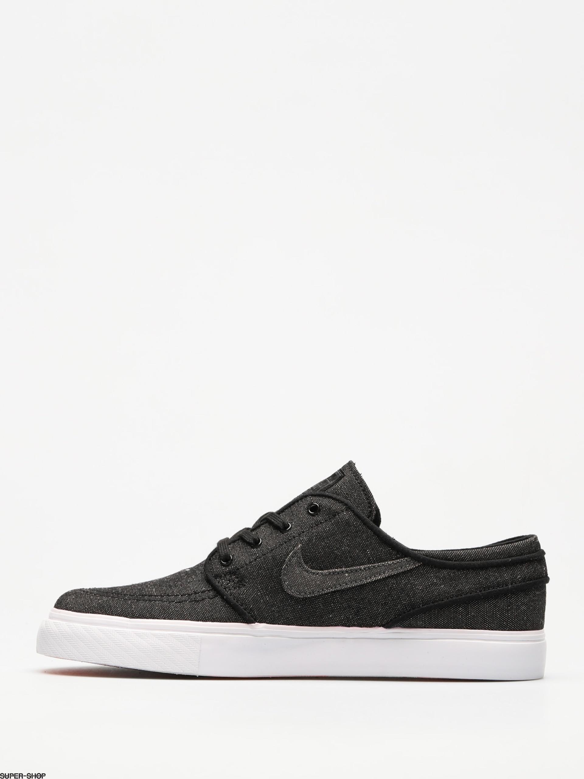 Represalias Alfombra Sucio  Nike SB Shoes Sb Zoom Stefan Janoski Canvas Deconstructed (black ...