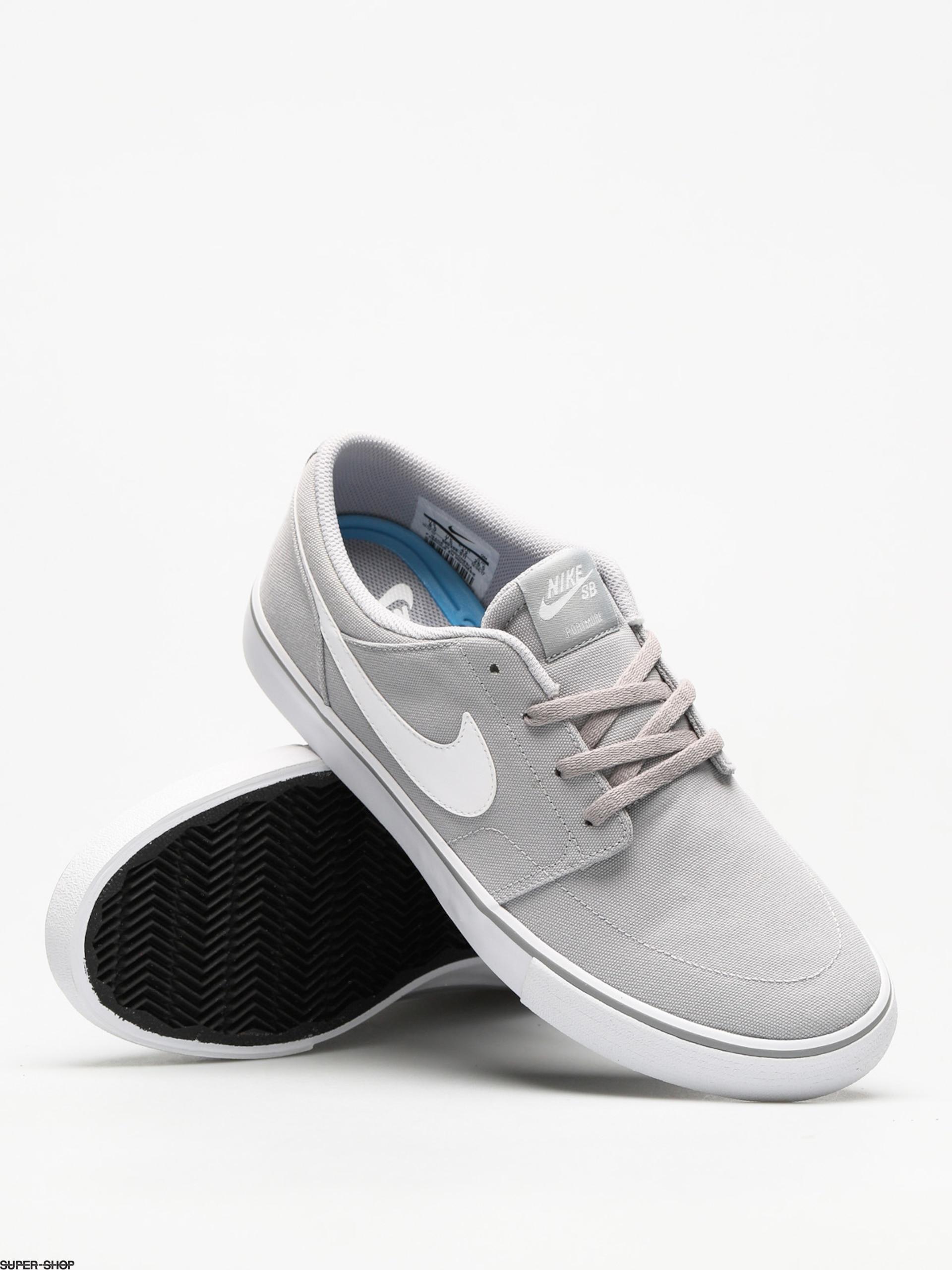 junto a Superar Economía  Nike SB Shoes Sb Solarsoft Portmore II Canvas (wolf grey/white black)