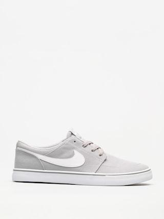 Nike SB Shoes Sb Solarsoft Portmore II Canvas (wolf grey/white black)