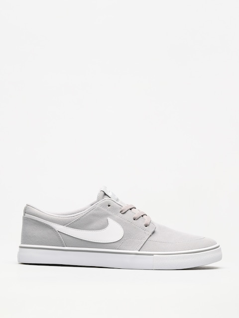 Nike SB Shoes Sb Solarsoft Portmore II Canvas (wolf grey/white black)