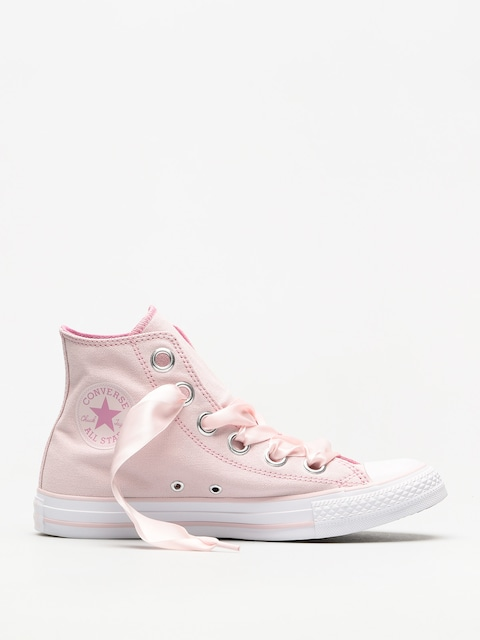 Converse Chucks Chuck Taylor As Big Eyelets Hi Wmn (barely rose/light orchid/white)
