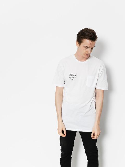 Volcom T-shirt Hellacin Dd (wht)