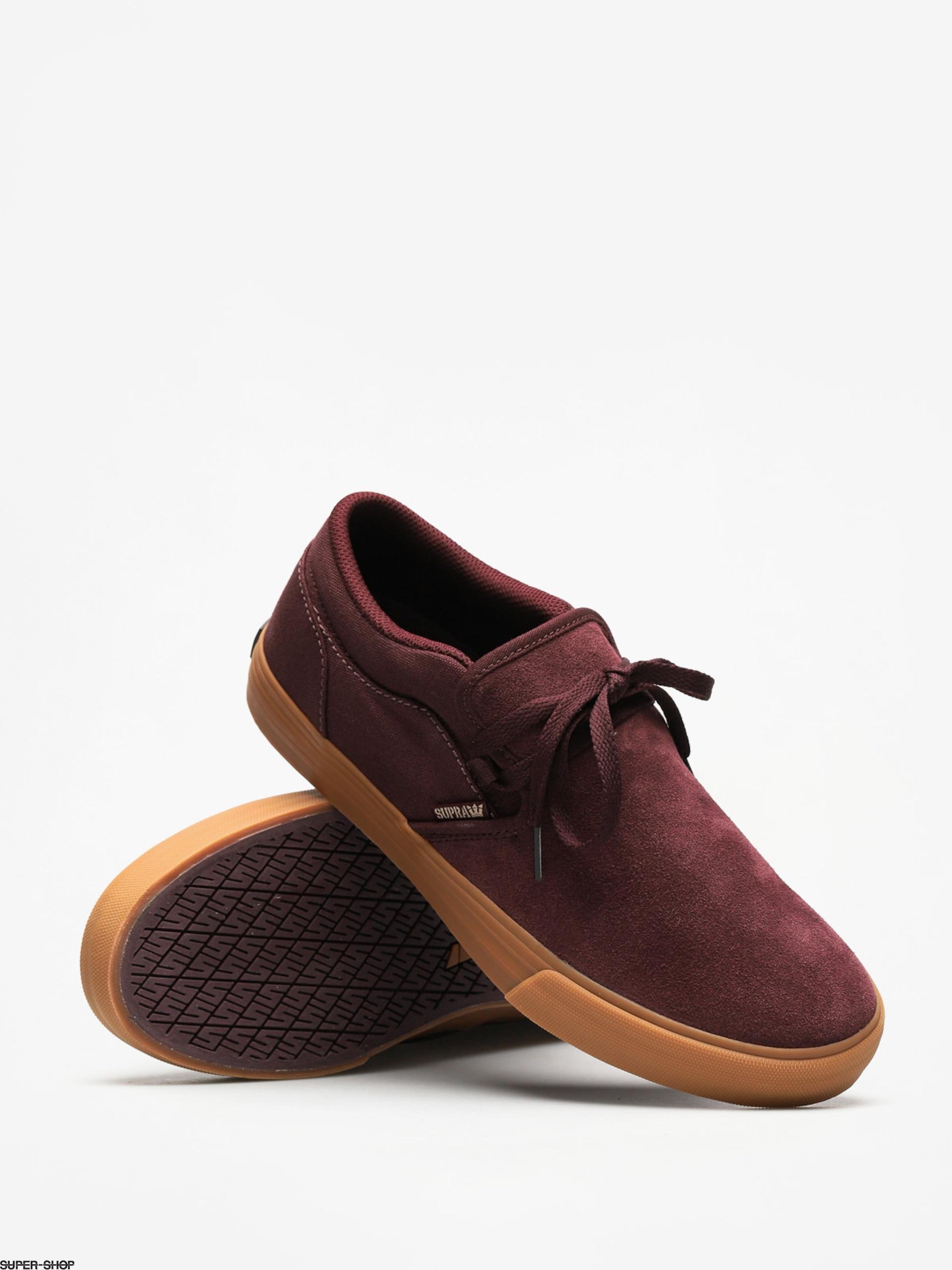 33021e25e8d6 Supra Shoes Cuba (wine gum)