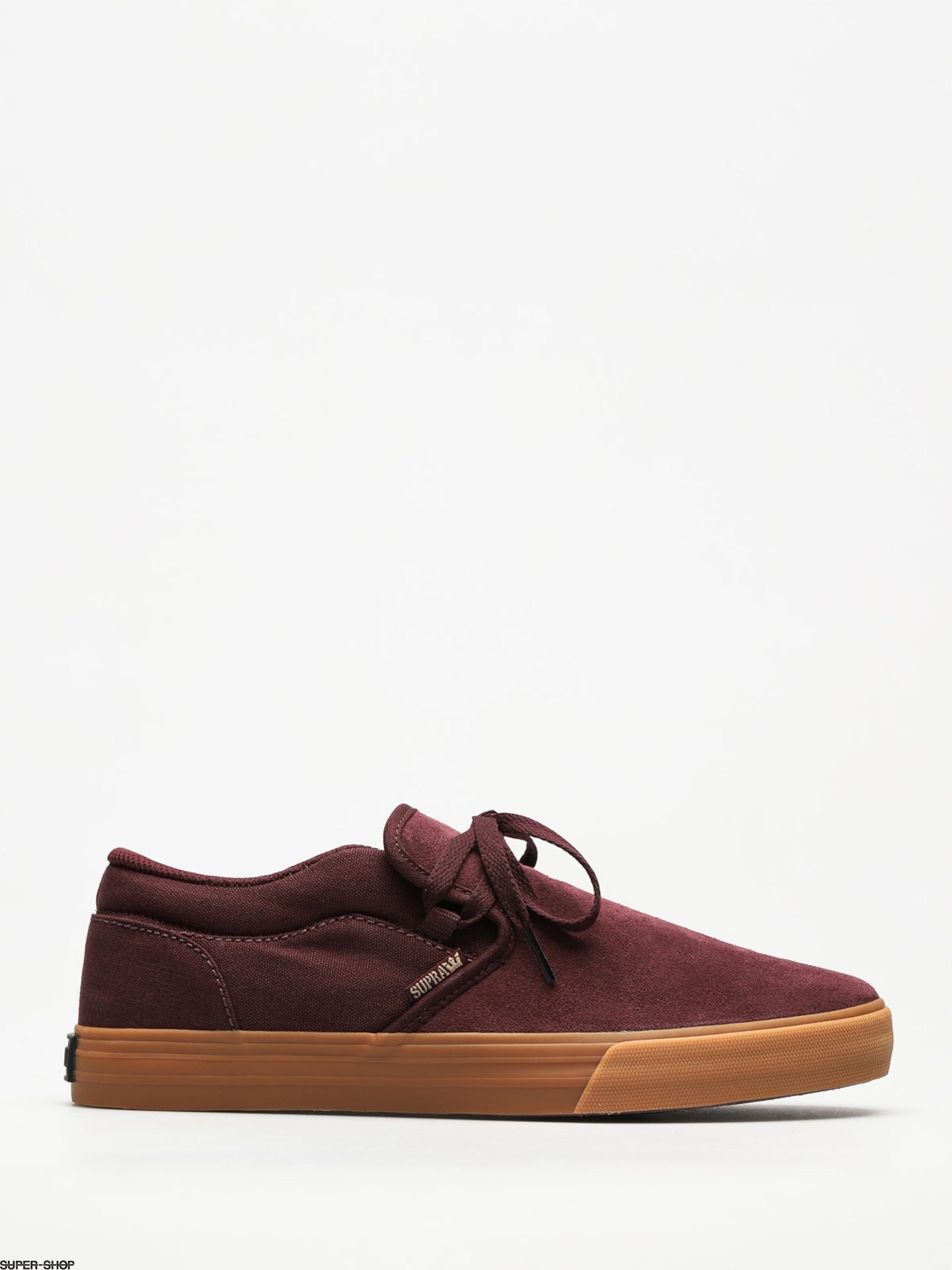 Supra Shoes Cuba (wine gum) 55c6c6883