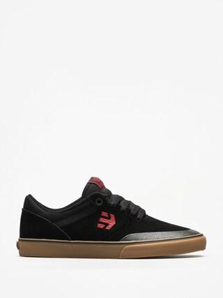 Etnies Schuhe Marana Vulc (black/red/gum)