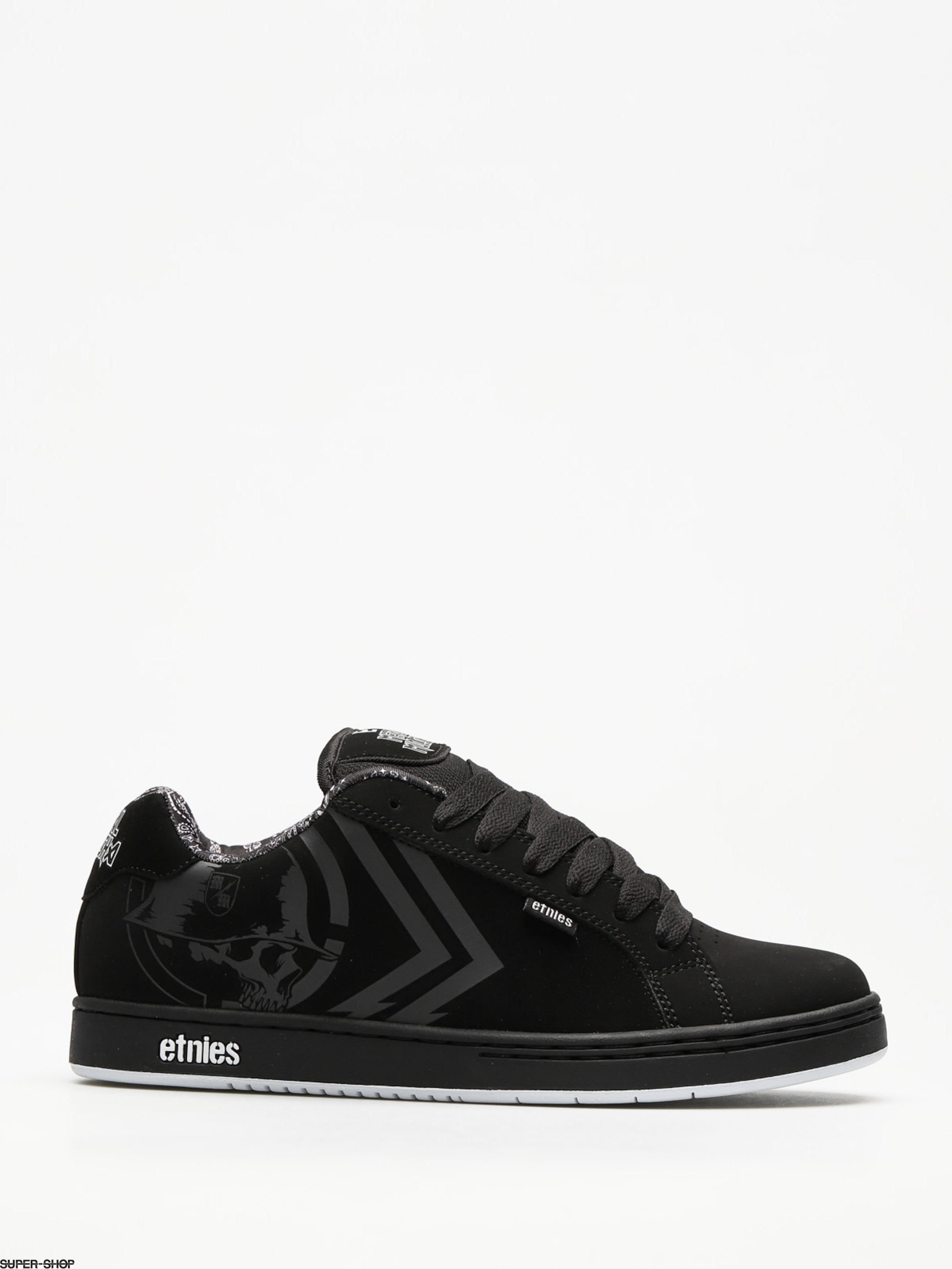 Etnies Shoes Metal Mulisha Fader (black/white)