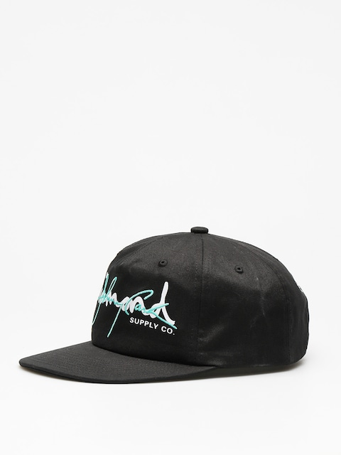 Diamond Supply Co. Cap Cash Script Unstruc ZD (black w/diamond blue)