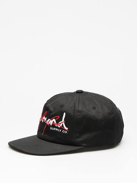 Diamond Supply Co. Cap Cash Script Unstruc ZD (black w/red)