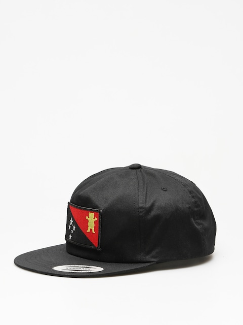 Grizzly Griptape Cap Blvck Grizzly Flag ZD (black)