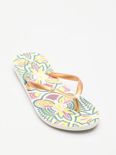 Roxy Flip-flops Portofino II Wmn (gold cream)