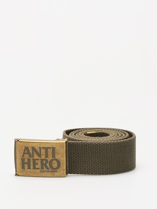 Antihero Belt Black Hero (bras/army green)