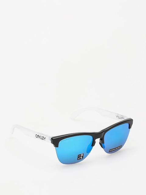 Oakley Sunglasses Frogskins Lite (matte black/matte clear/prizm sapphire iridium)