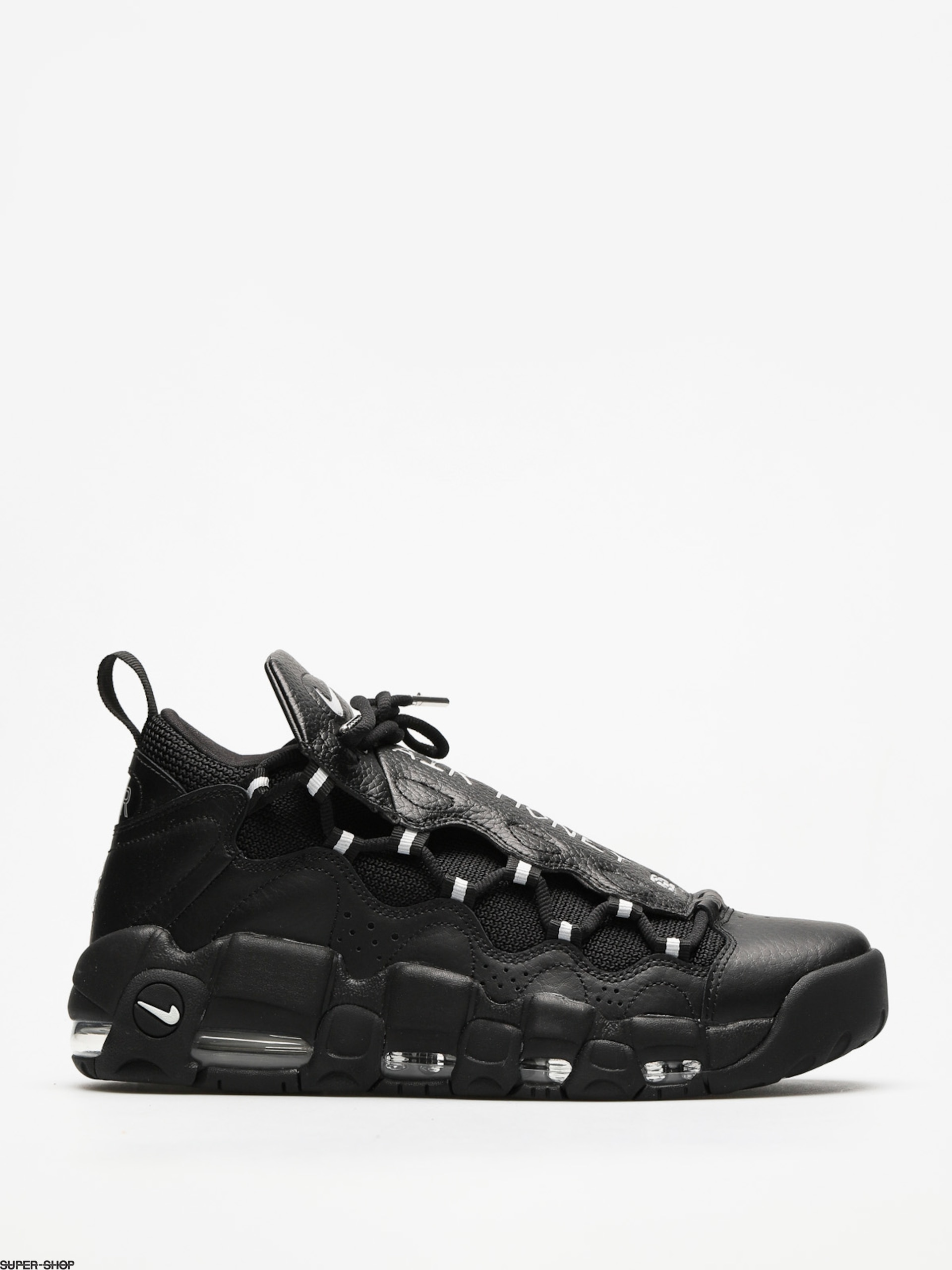 Nike Shoes Air More Money (black/metallic silver black)