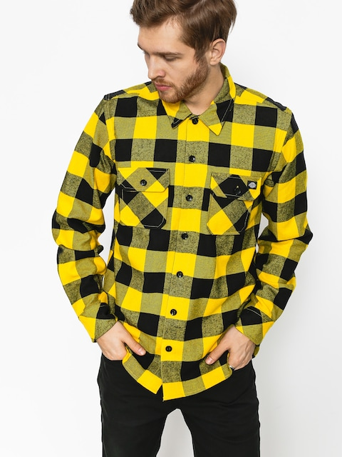 Dickies Shirt Sacramento (yellow)