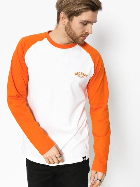 Dickies Longsleeve Baseball (energy orange)