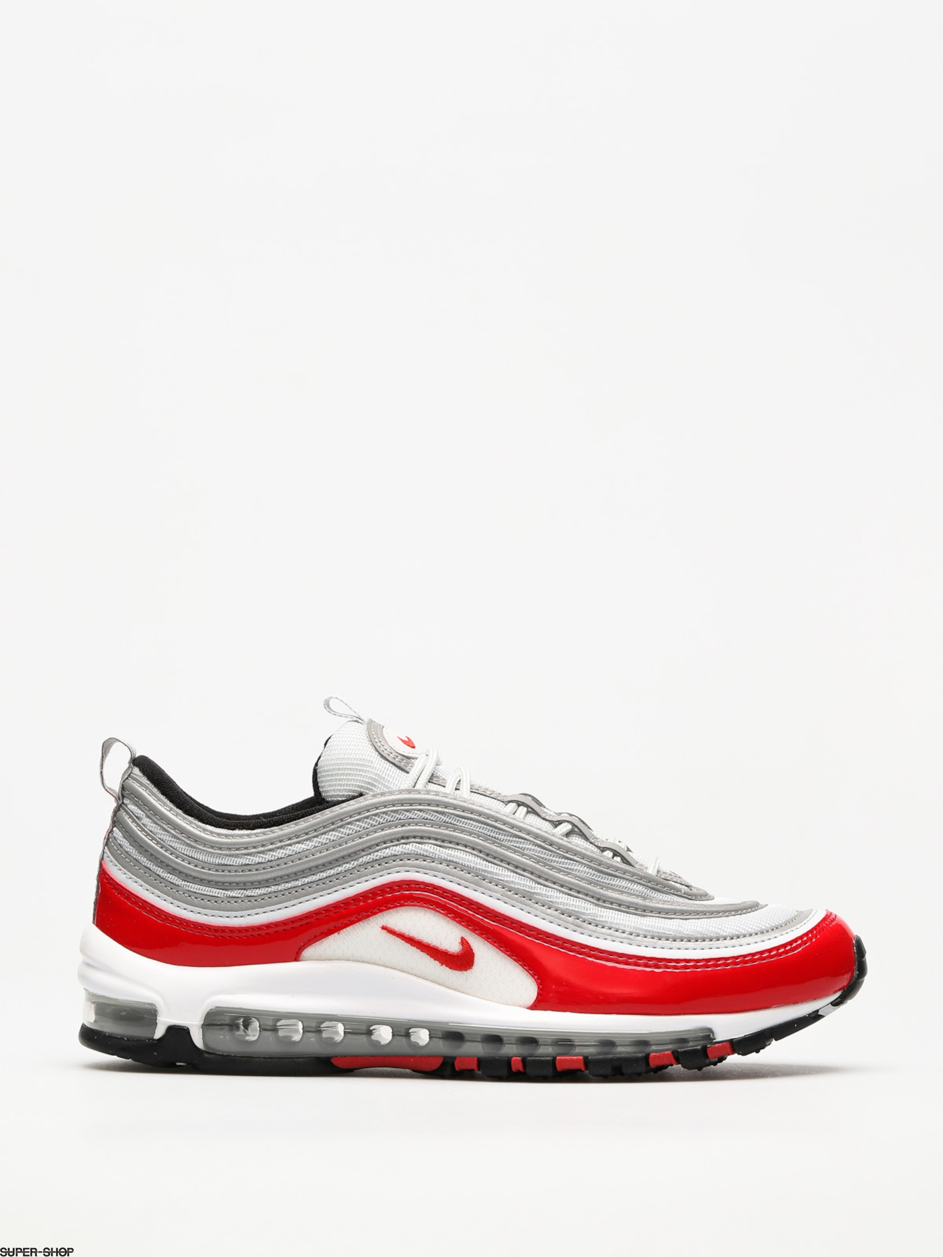 Nike Shoes Air Max 97 (pure platinum/university red black white)