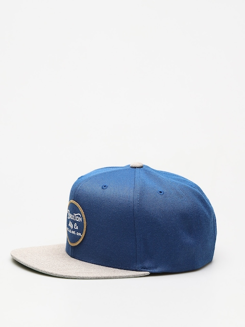 Brixton Cap Wheeler ZD (dark blue/light heather grey)