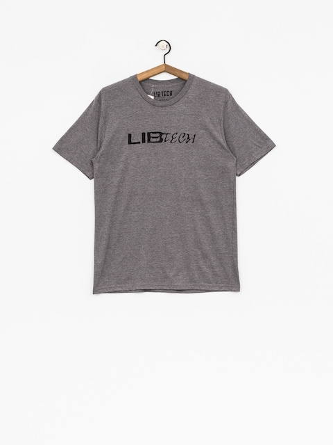 Lib Tech T-Shirt Logo (heather charcoal)
