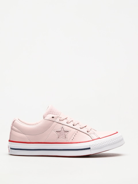 Converse Shoes One Star (barely rose/gym red/white)