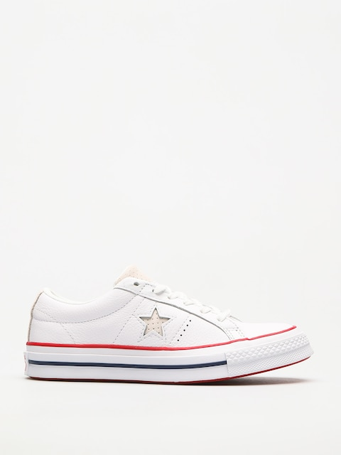 Converse Schuhe One Star (white/gym red/white)