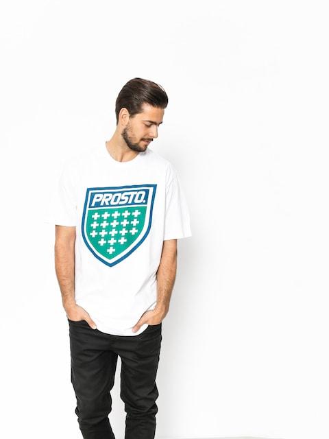 Prosto T-Shirt Shield XVIII (white)