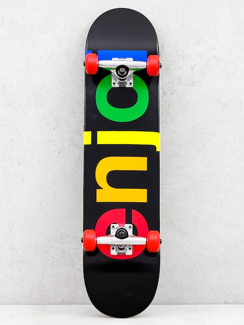 Enjoi Skateboard Specrtum Resin (black)