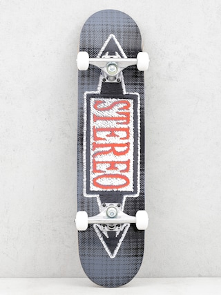 Stereo Skateboard Stiched Blue (black)