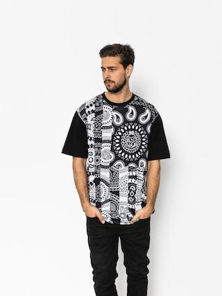 MassDnm T-shirt Bandana Flag (black)