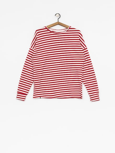 The Hive Longsleeve Stripes Wmn (red/white)