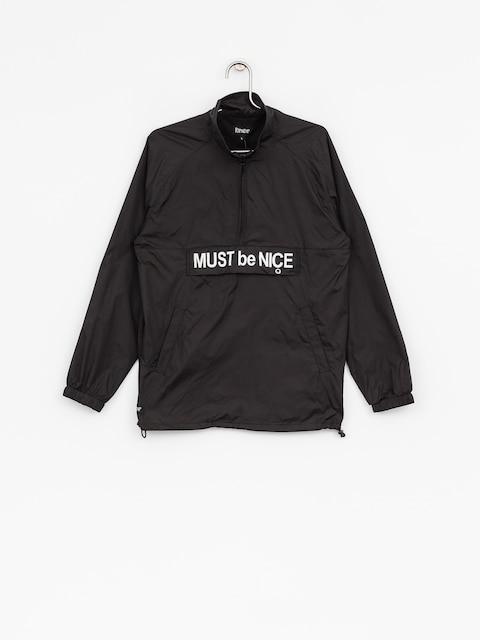 RipNDip Jacket Must Be Nice Half Zip Anorak (black/3m ink)