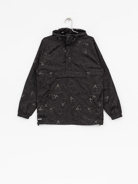 RipNDip Jacket Nermal 3M Line Camo Anorak (black/3m ink)