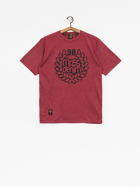MassDnm T-shirt Base (heather claret)