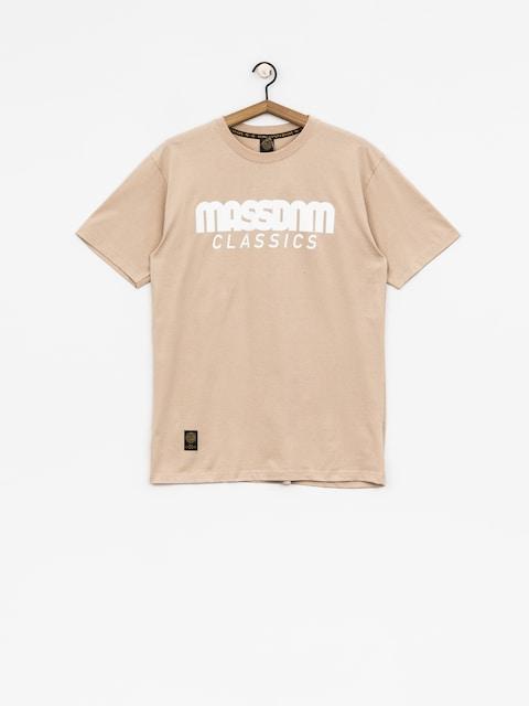 MassDnm T-Shirt Classics (beige)
