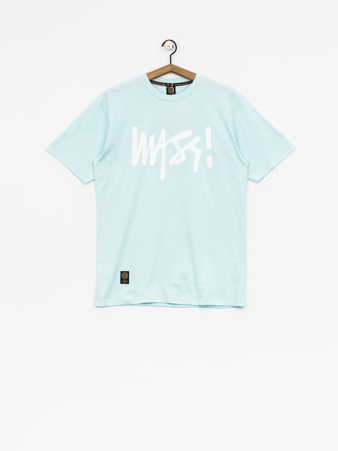 MassDnm T-shirt Signature (light blue)
