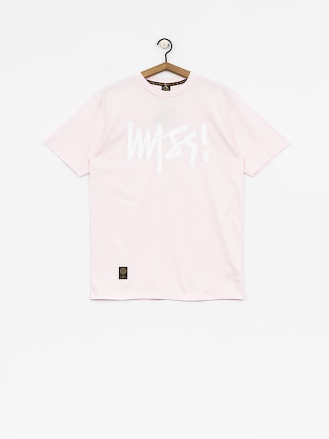 MassDnm T-shirt Signature (light pink)