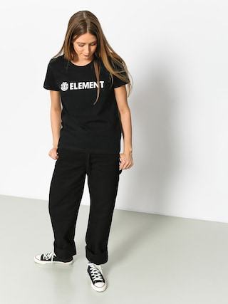 Element T-shirt Logo Wmn (black)