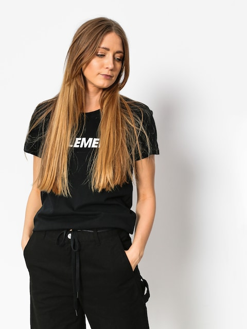 Element T-shirt Logo Wmn
