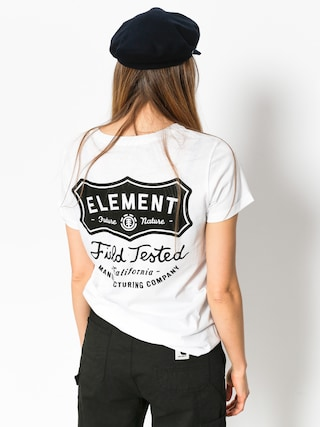 Element T-Shirt Test Crew Wmn (white)