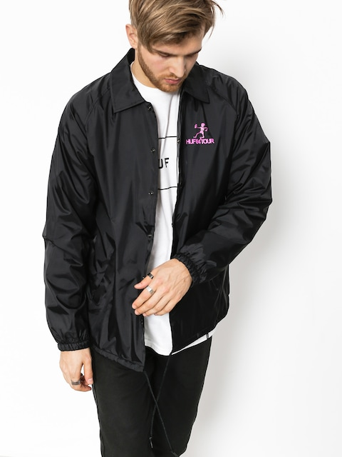 HUF Jacke Owsley Coaches (black)