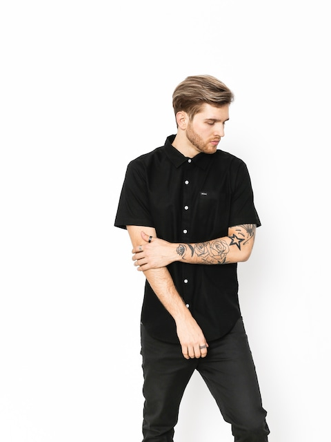 Brixton Shirt Charter Oxford Wvn (black)